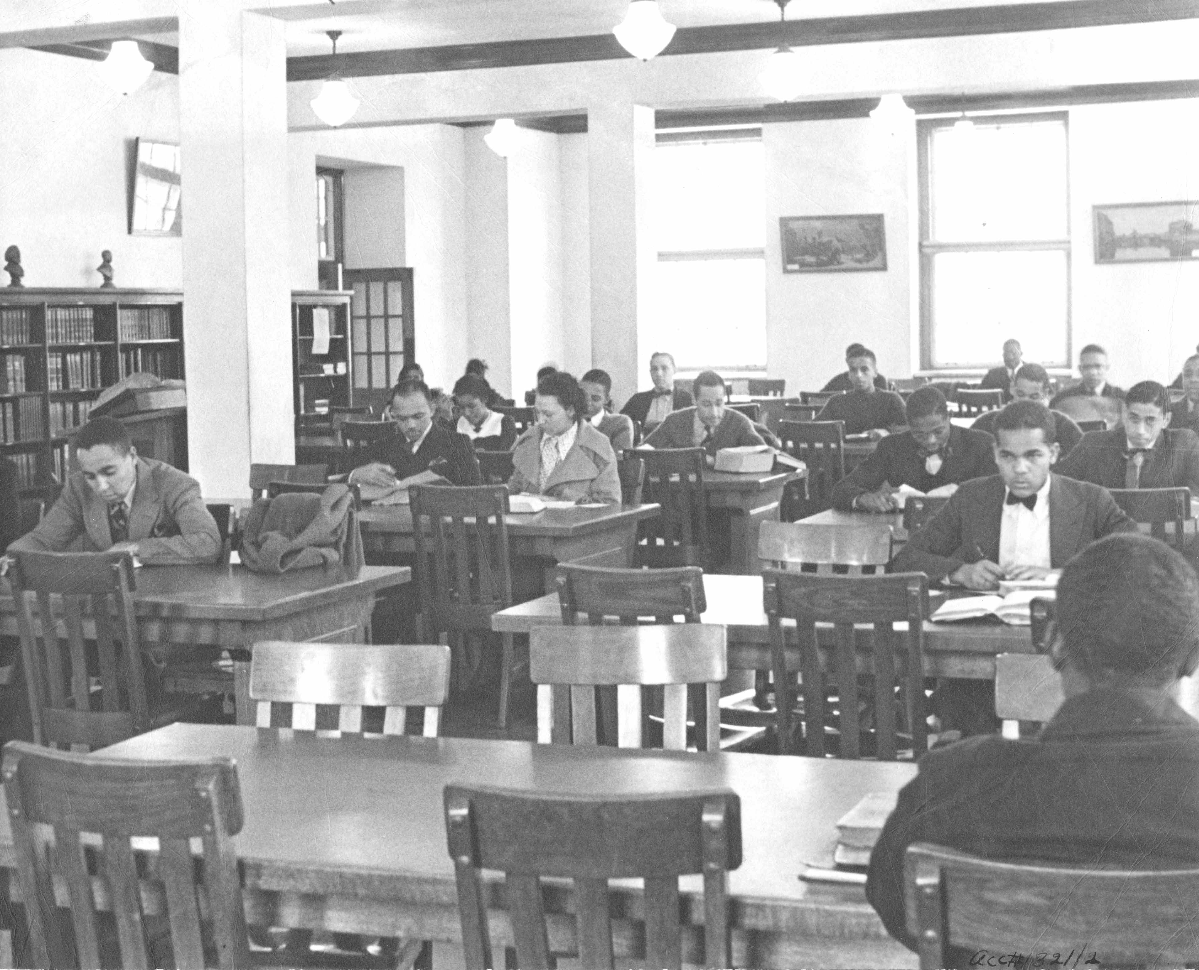 Library at Lincoln University, c. 1937