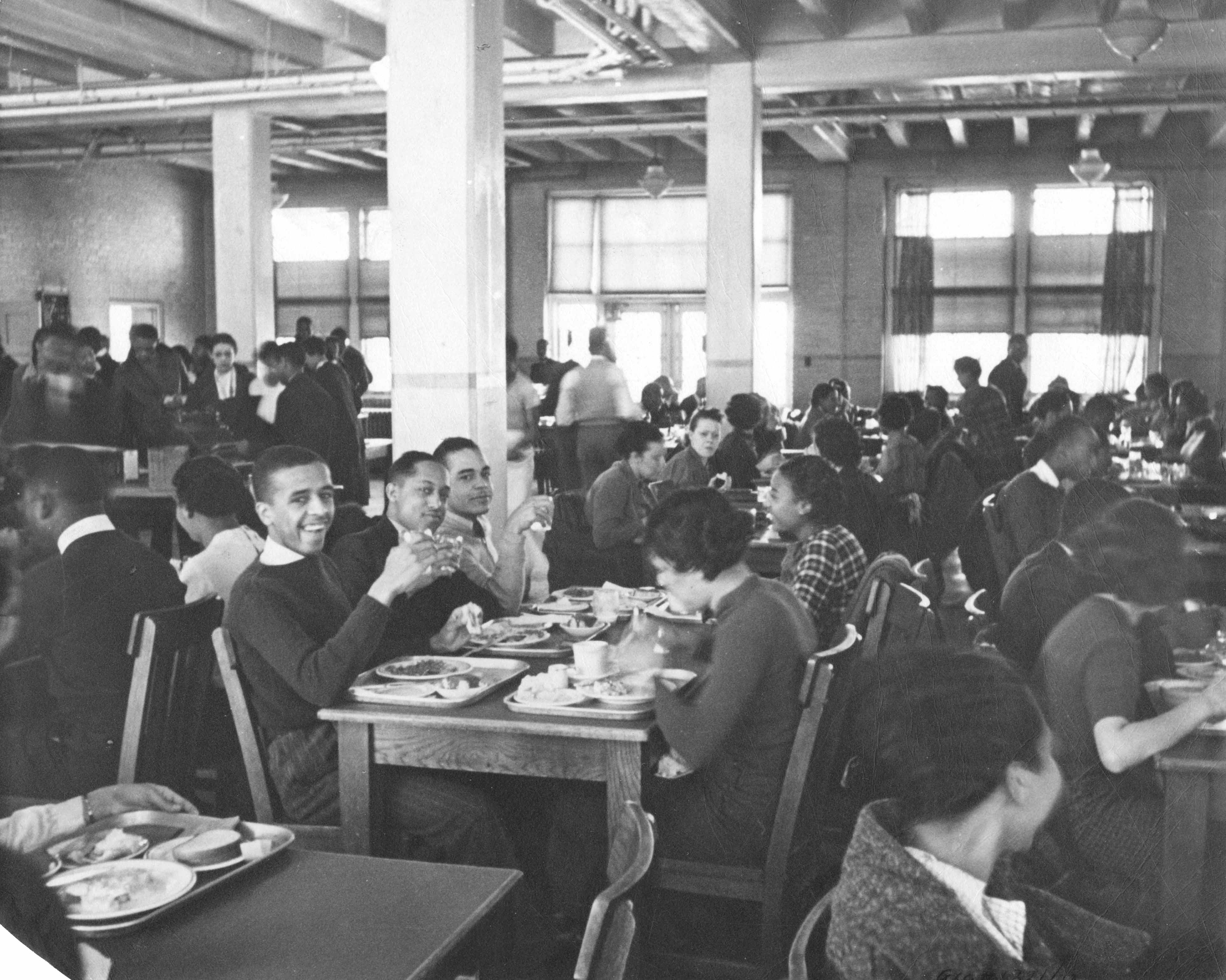 Cafeteria at Lincoln University, c. 1937