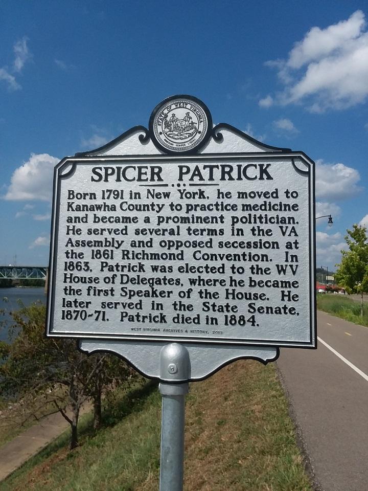 Spicer Patrick Historic Marker