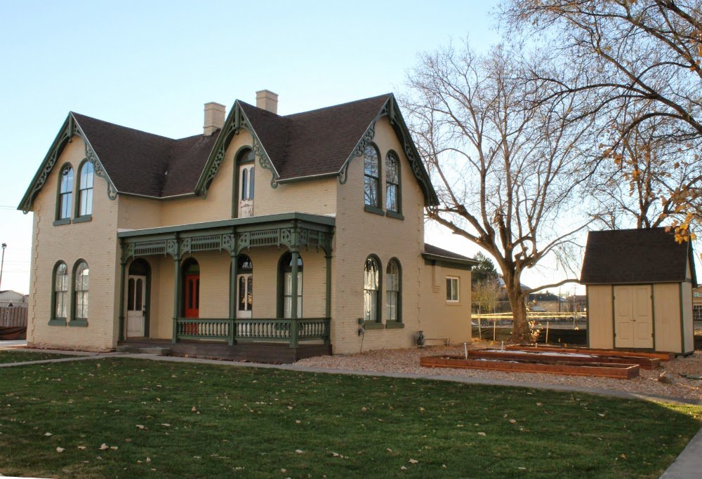 This 130-year-old home was completely renovated by volunteers with the financial assistance of the Provo Redevelopment Agency.