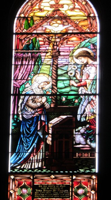 Stained glass - Annunciation