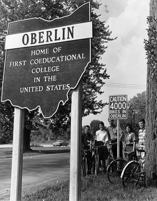 Women were permitted to study in Oberlin since its founding in 1833. However, women were limited in their choice of education programs as only some programs permitted female students (Image Credited to Oberlin College Today)