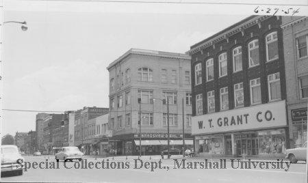 Grant's, pictured in June 1954