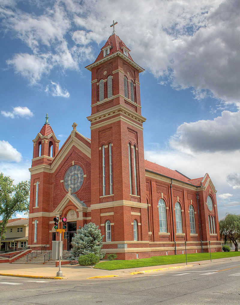 St. Teresa's Catholic Church was built in 1911.