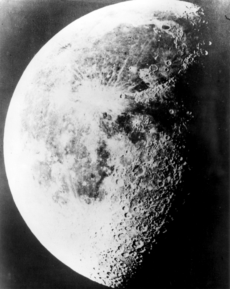 Picture taken by Henry Draper in his observatory on Sep. 3, 1863. Taken with his Silvered-Glass Telescope, 15-1/2 inches Aperture.