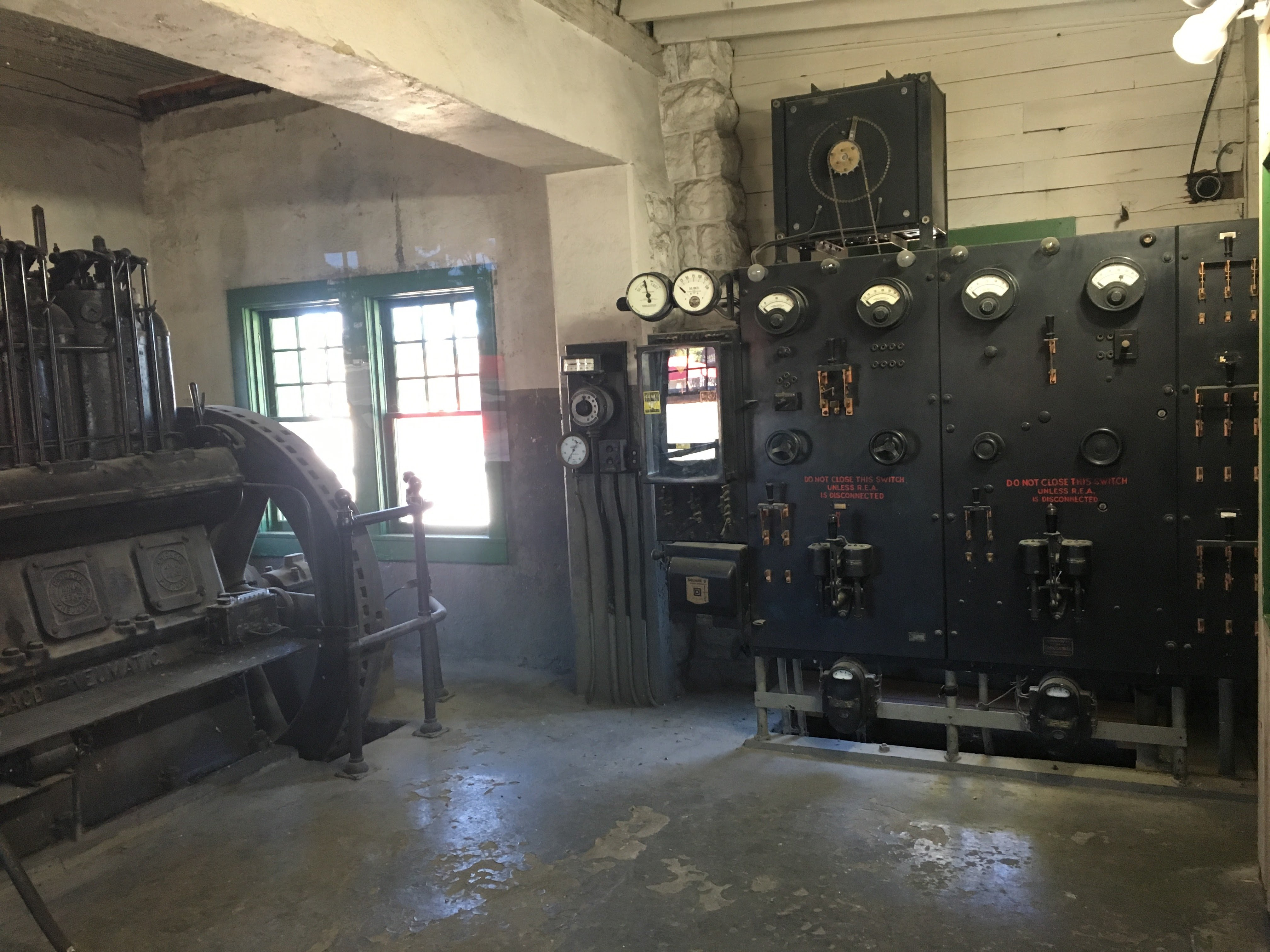 Inside of Generator Room.