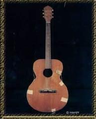 Elvis Presley's first guitar