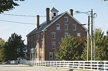 This is the main dwelling in Sabbathday Lake Shaker Village, which is a communal living community