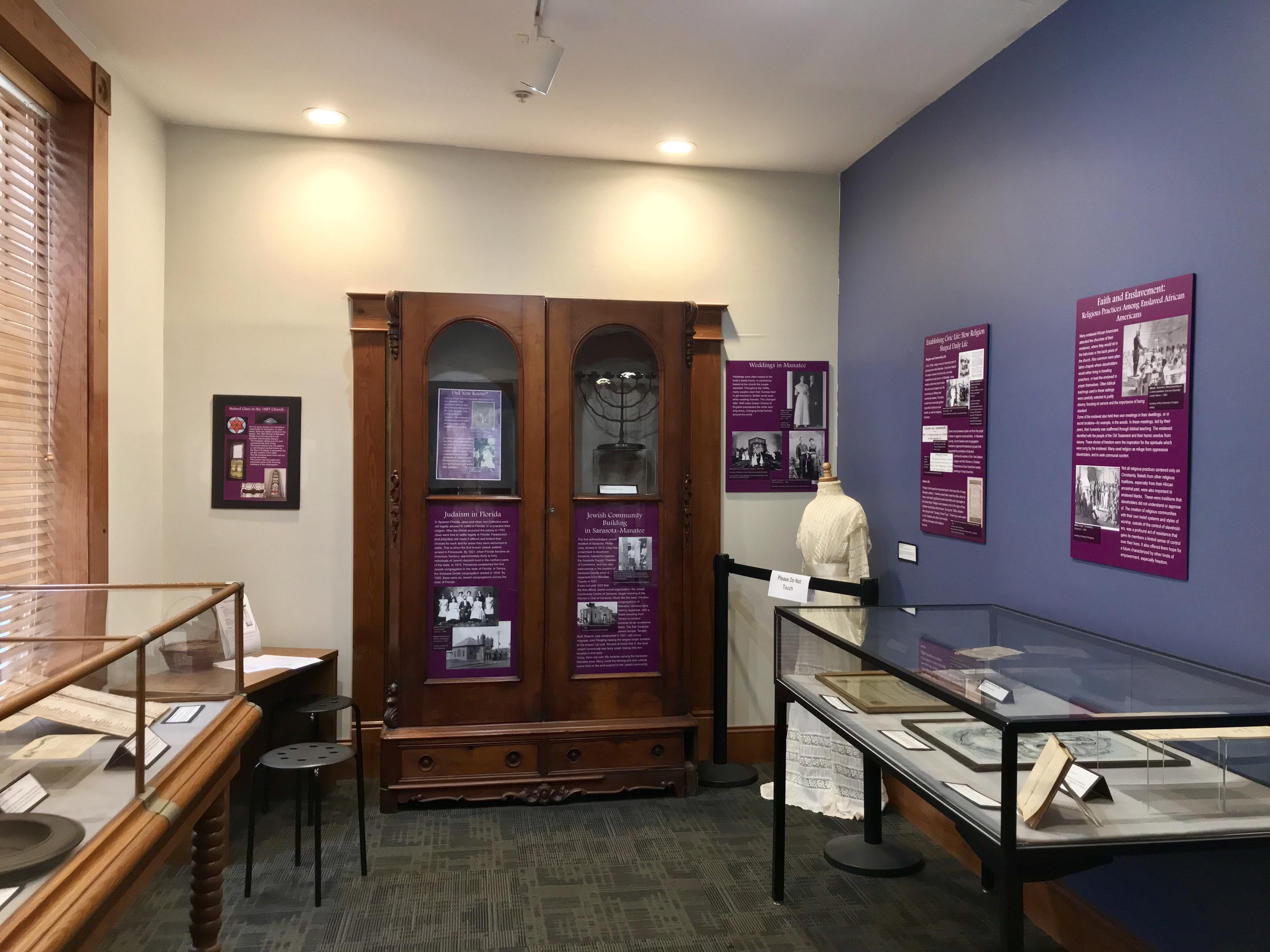 Religion in Manatee Exhibit (2019-2020)