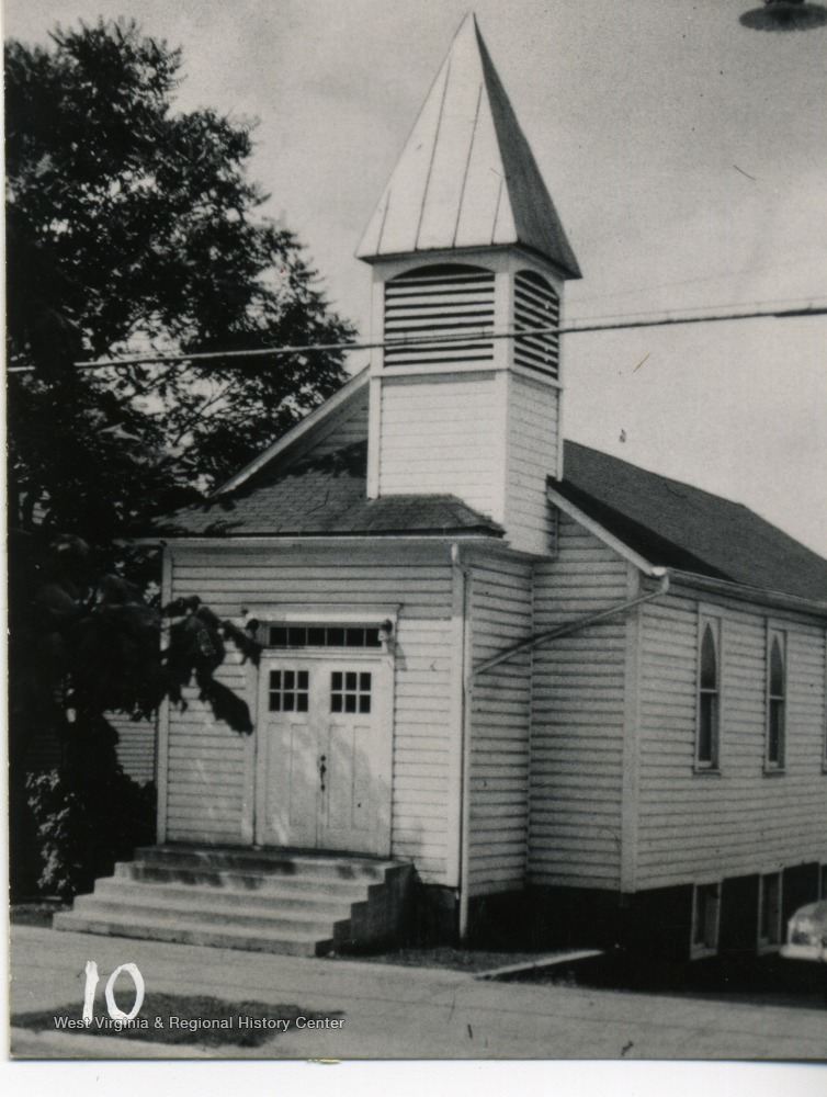 Undated photo of St. Paul A.M.E. Church prior to its demolition.
