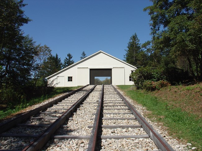Engine House #6 is located about a third of a mile from the Visitor's Center