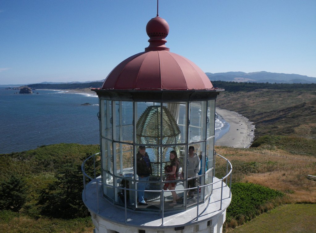 In 1980, the lighthouse was broken into and the lens was broken. The new lens cost nearly $80,000.