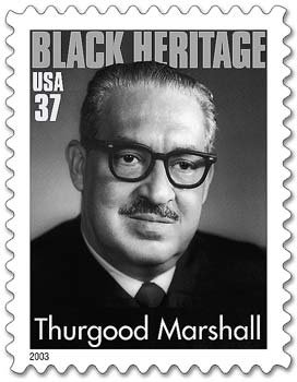 Thurgood Marshall - attorney for the 4 women in the class action suit Constantine vs SLI