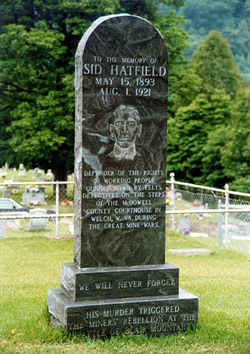 Grave of Sid Hatfield