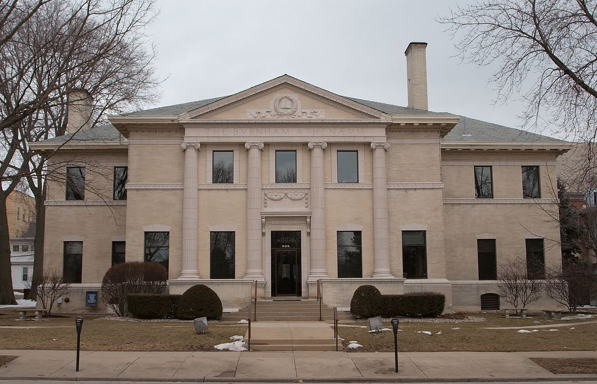 This building housed the Champaign Public Library until 1978.