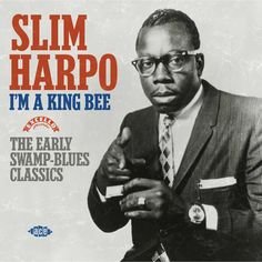 """Album cover with Slim Harpo's first hit- """"I'm a King Bee"""""""