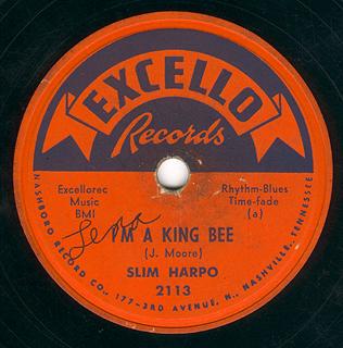 "Album single ""I'm A King Bee"""