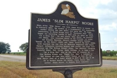Closeup Picture of Historical Marker