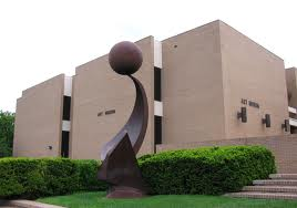 Outside View of the Amarillo Museum of Art