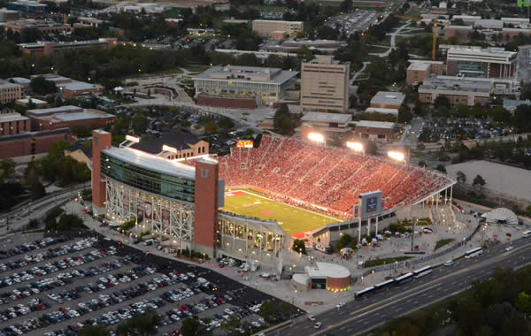 Rice-Eccles Stadium  opened in 1927