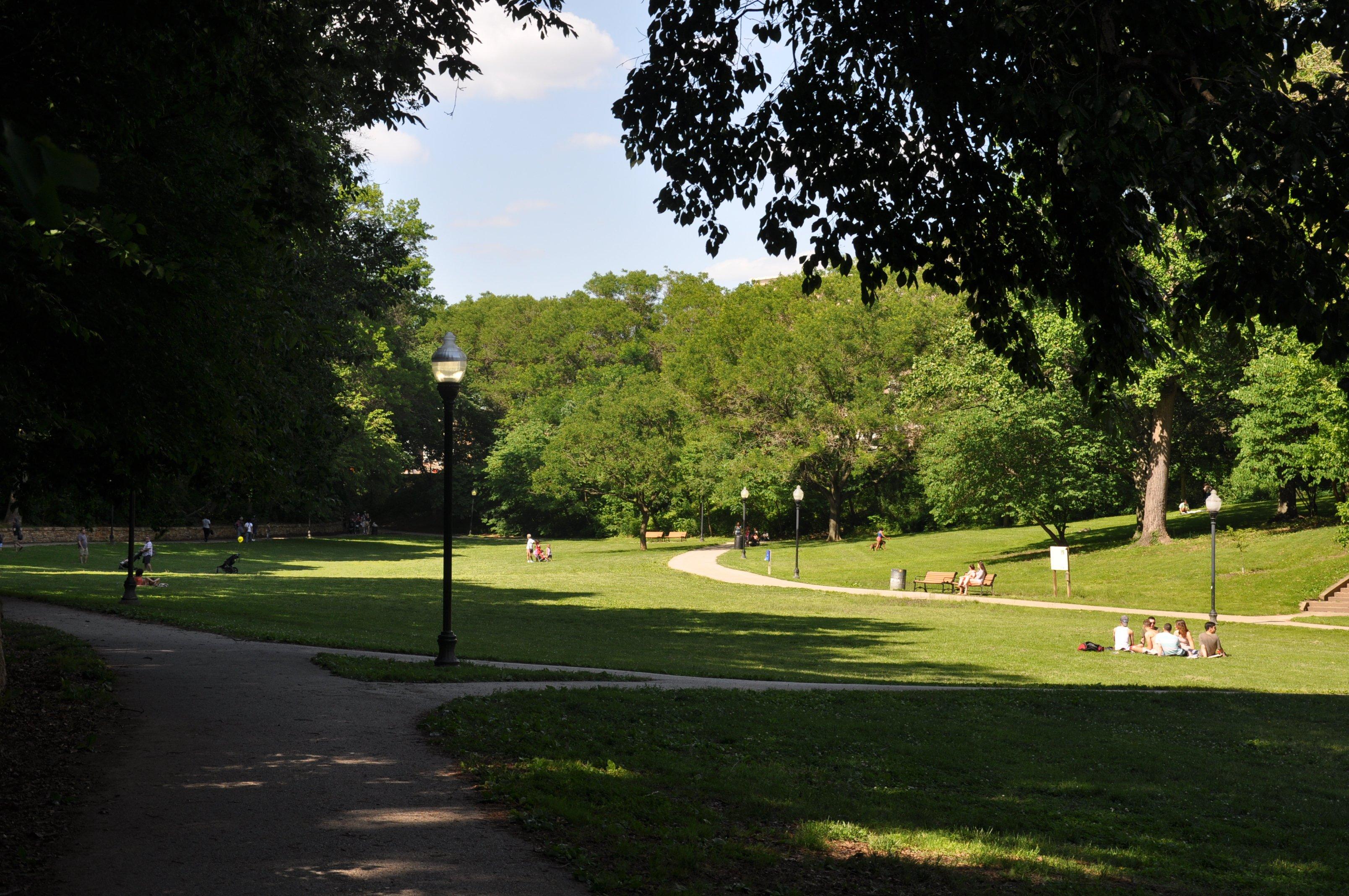 Wyman Park Dell