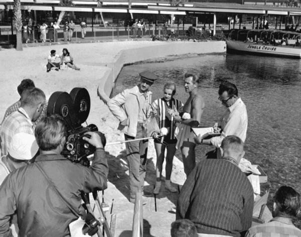 Cast of Sea Hunt at Silver Springs which was filmed here from 1958 to 1961.