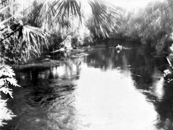 Blue Spring in 1930.