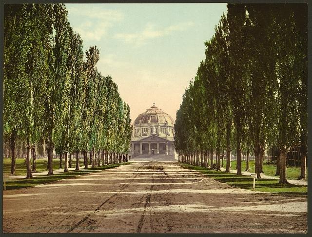 Salt Palace (the original), Salt Lake City, 1900.