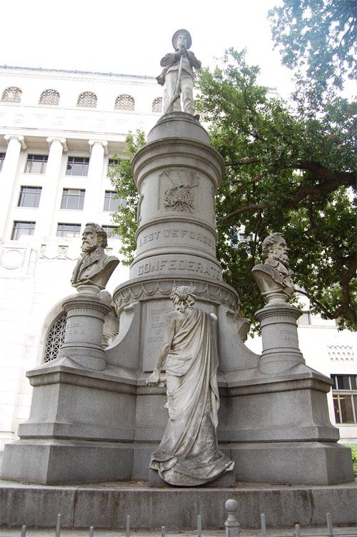 This monument erected by the UDC in 1905 is scheduled for removal