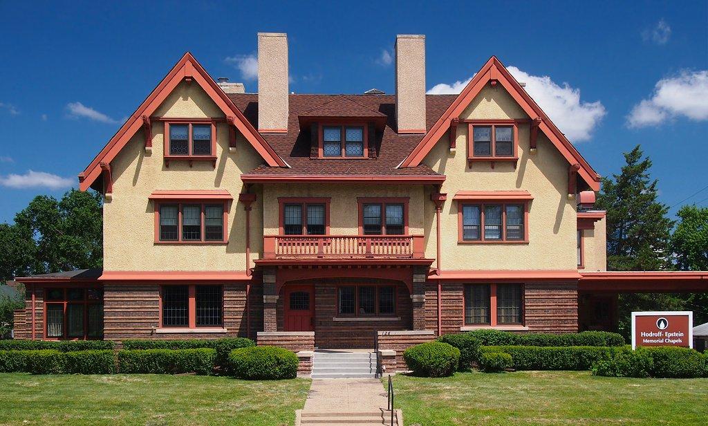 Historic Edwin H. Hewitt House. Photo taken in 2013.