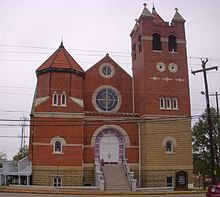 First Baptist Church was one of the most important safe havens for the Freedom Riders, those who participated in the effort to remove segregation from bus routes.