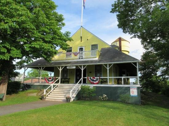The Fifth Maine Regiment Memorial Hall, now a museum and community center.