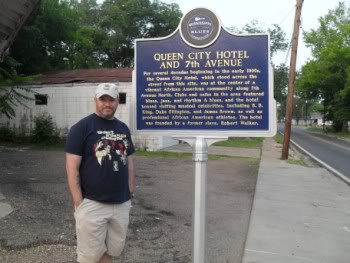 Queen City Historical Marker