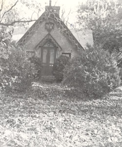 Old School Photo of the Chapel House