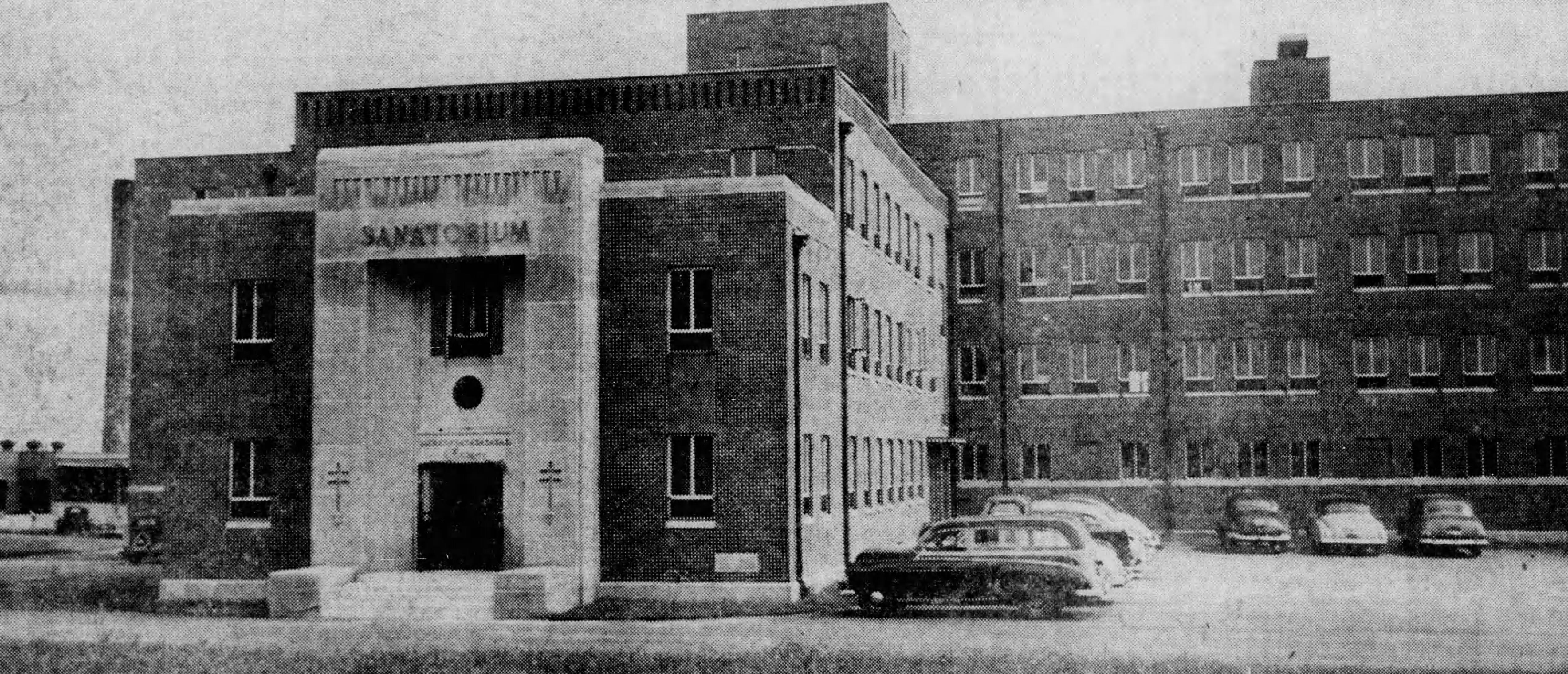 Madisonville Sanatorium in 1950