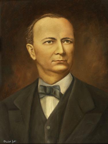Governor William D. Bloxham Portrait