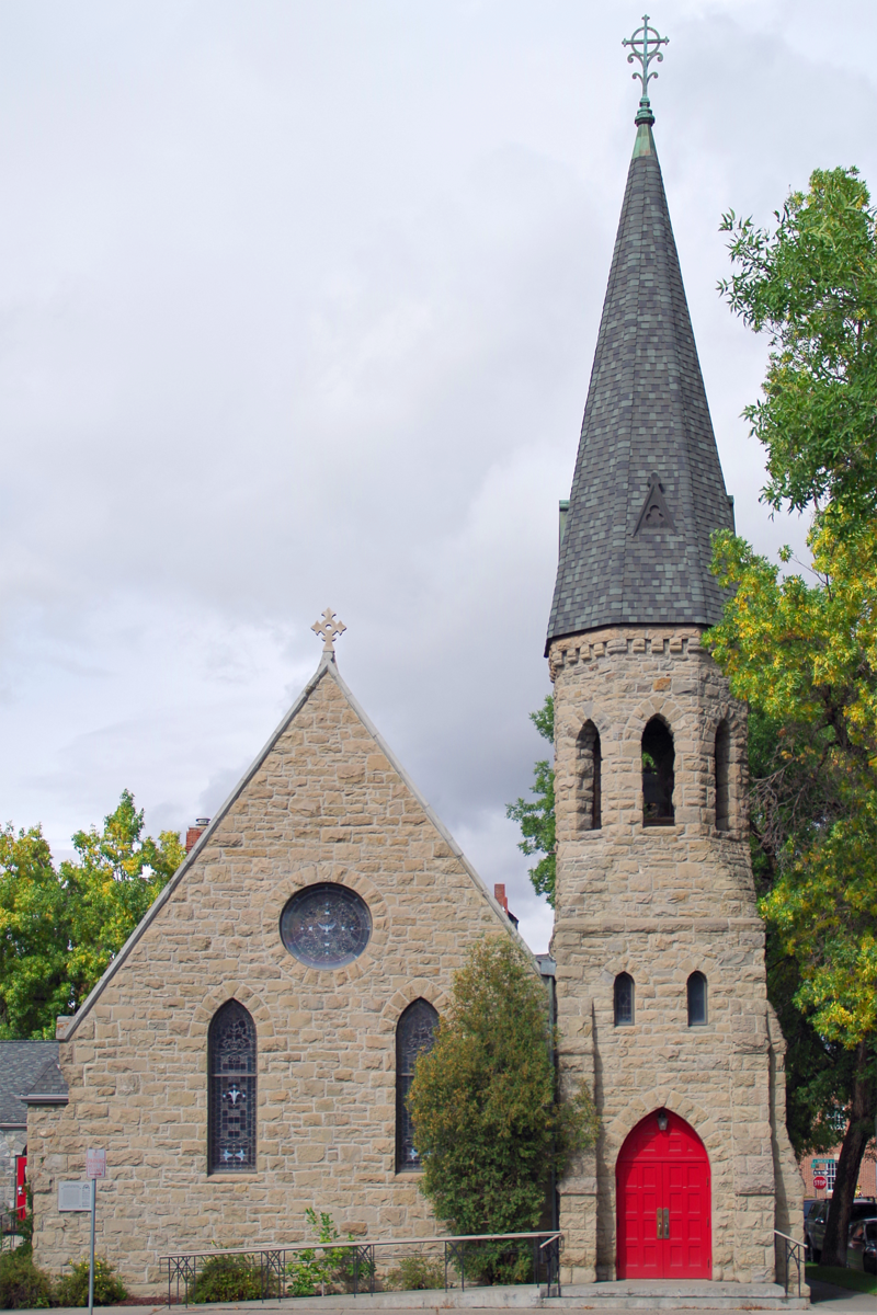 St. James Episcopal Church was built in 1890.