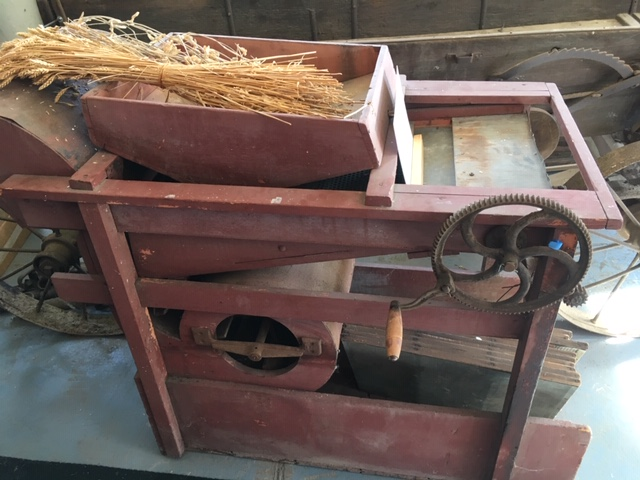 Wheat separator