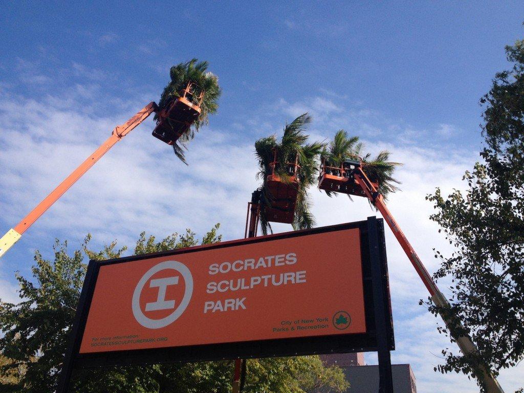 Sign Near Park