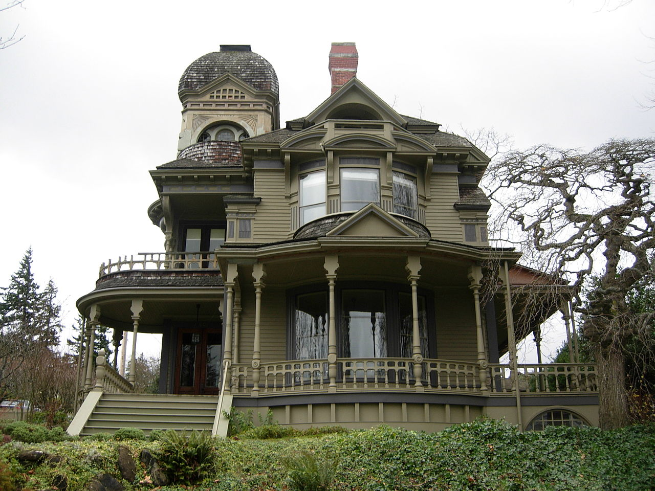 Built in 1892, the Gamwell House is one of the most beautiful homes in Bellingham.