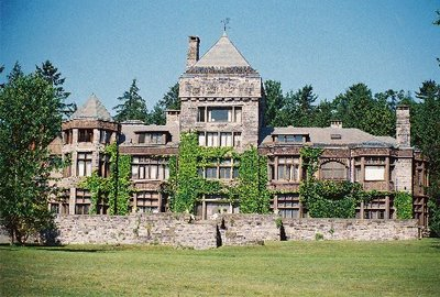 The mansion at Yaddo