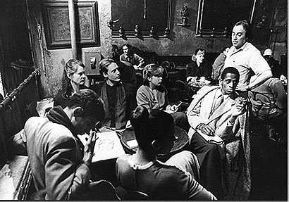 Inside Caffé Reggio circa 1960s