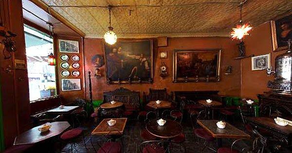 Inside Caffé Reggio today