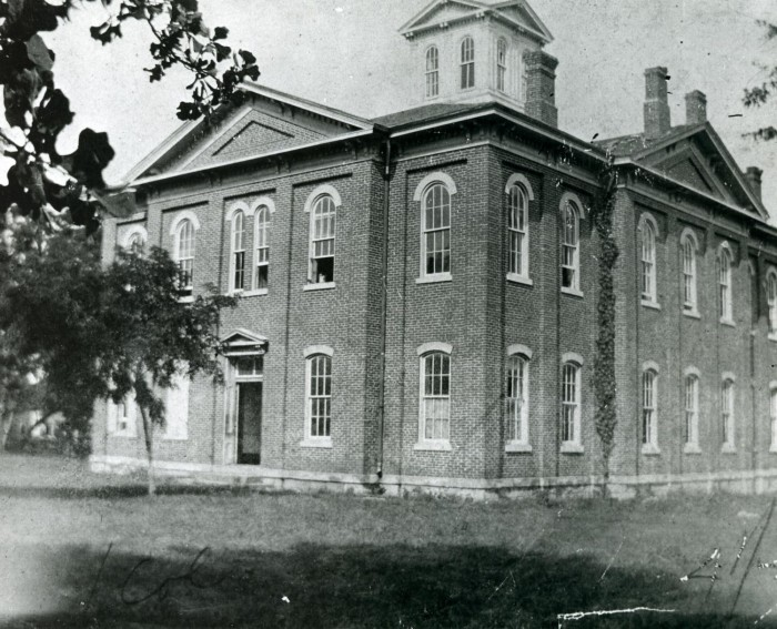 The Cherokee National Capitol Shortly Before Oklahoma Became a State, ca. 1907