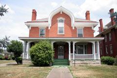 D. Byrd Gwinn's house, now the Marshall University Crime Scene House