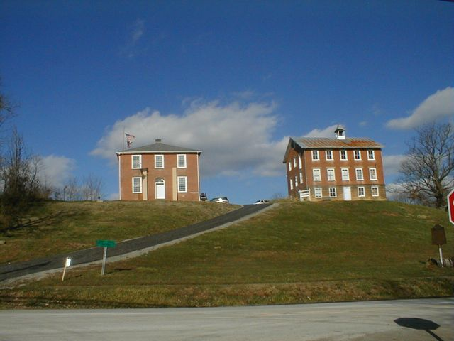 Chester Courthouse and Academy (Left to Right)