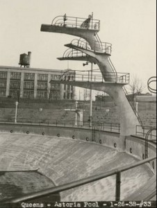 Old Picture of Diving Board