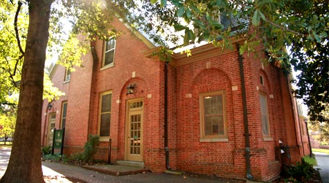 Taliaferro Hall is named in honor of Confederate General and university supporter William Taliaferro