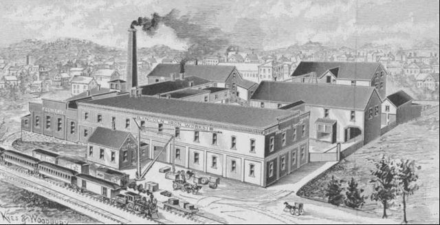 Lincoln Iron Works in it's early days.