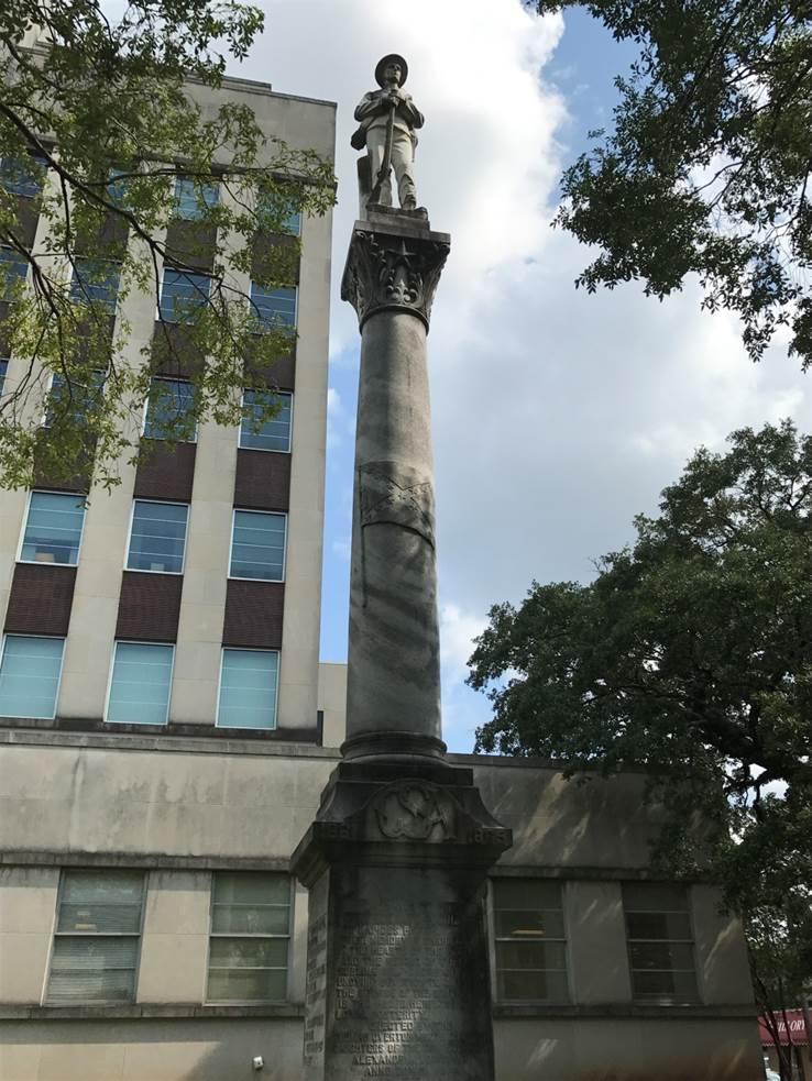 """The """"Pride of Alexandria"""" Confederate monument"""